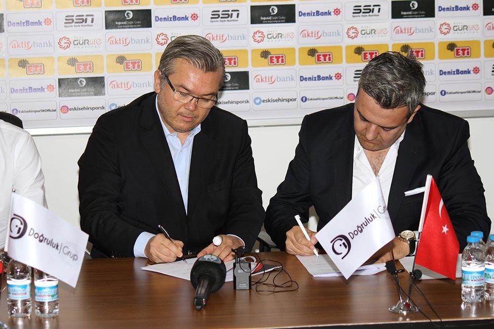 Doğruluk Group Became the Official Health Sponsor of Eskişehirspor