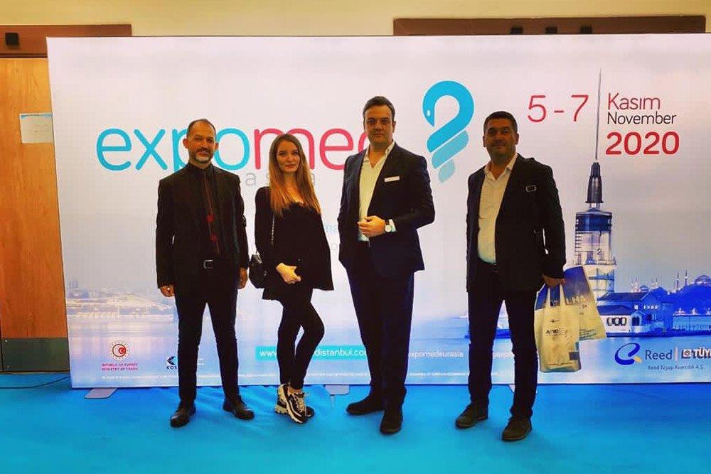 Doğruluk Grup'a Bağlı Doğruluk Medikal  Expomed Eurasia 2020 Fuarında!